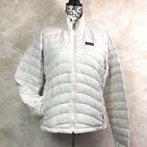 Patagonia Women's Down Sweater Jacket Off White